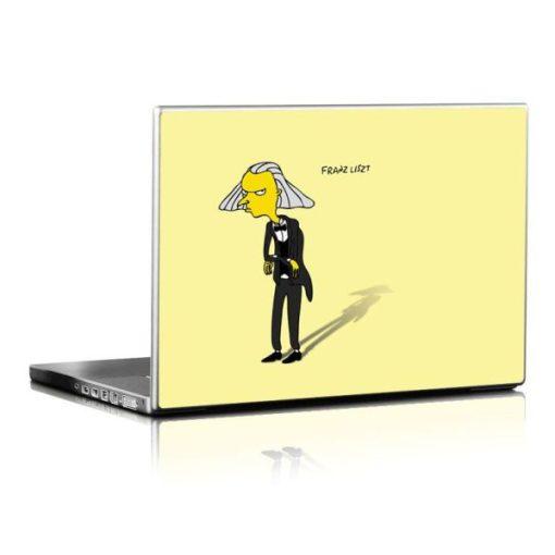 Simpsons Liszt laptopmatrica