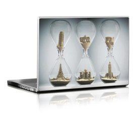 Itt az idő laptopmatrica