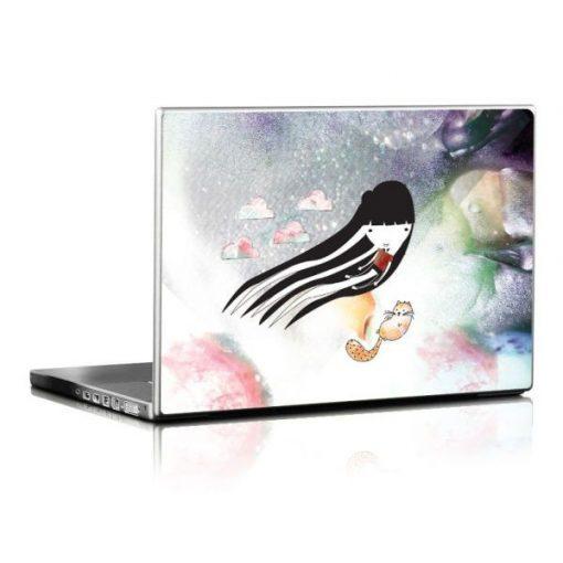 Szellőlány laptopmatrica