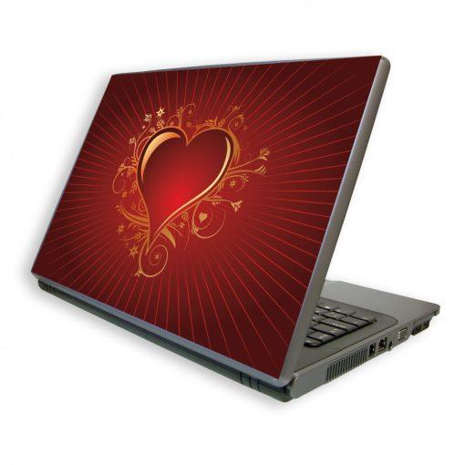 Valentin napi laptopdekor